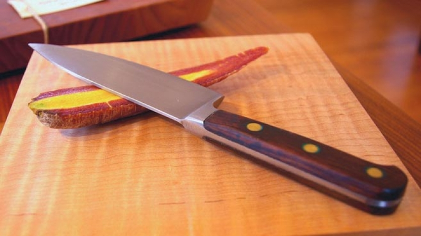 Cutting boards primarily from maple, walnut or cherry