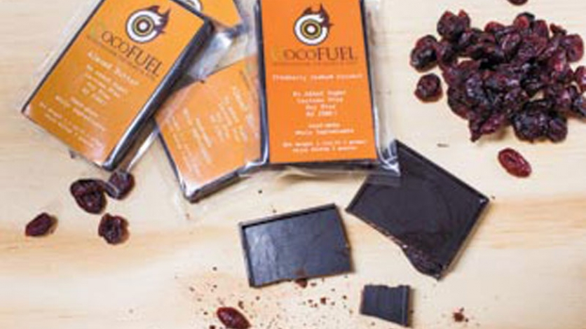 Locally sourced ingredients in CocoFuel chocolate