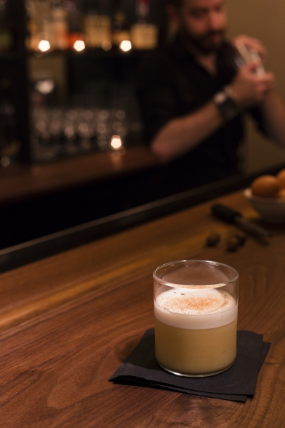 Orchard Flip Cocktail