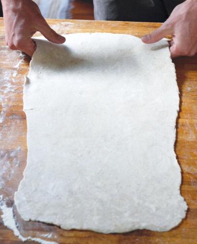 Shaping Pie Dough