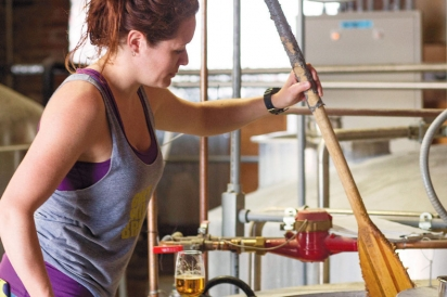 Michelle Kirms of Grey Sail Brewing Company