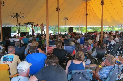 Summer concerts at the vineyard