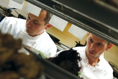 Kitchen team at Matunuck Oyster Bar