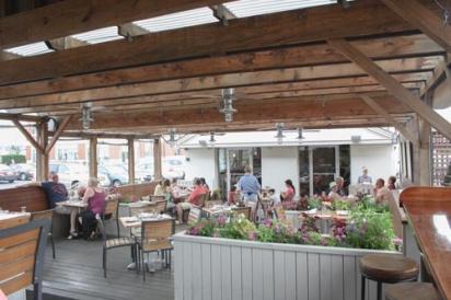 The Smoke House patio