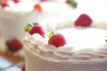 Fresh cakes from Wright's Dairy Farm & Bakery