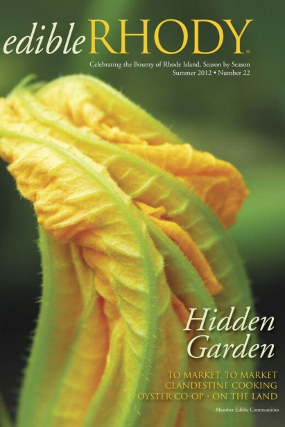 Edible Rhody Summer 2012 Cover