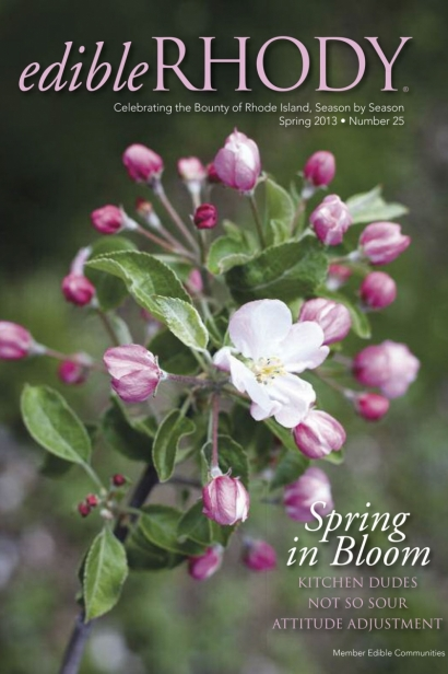 Edible Rhody Spring 2013 Cover