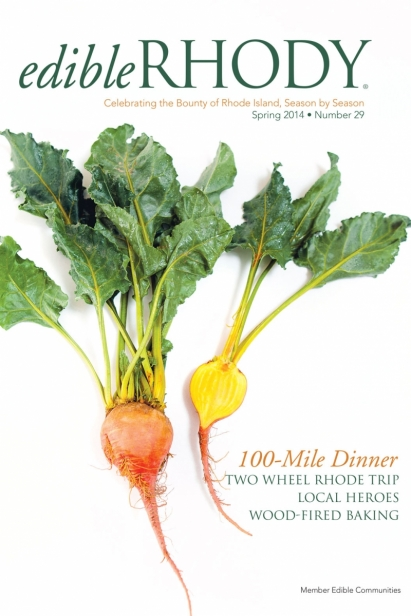 Edible Rhody Spring 2014 Cover