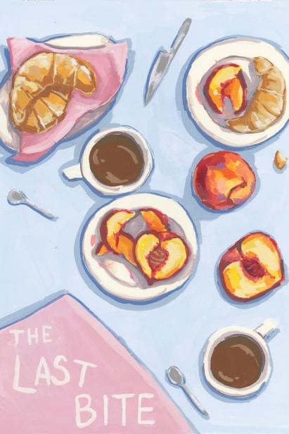 Breakfast Table Illustration by Adriana Gallo