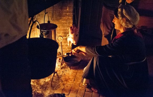 Hearth Cooking at Coggeshall Farm Museum in Bristol, RI