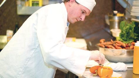 Chef Branden Read at Celestial Cafe