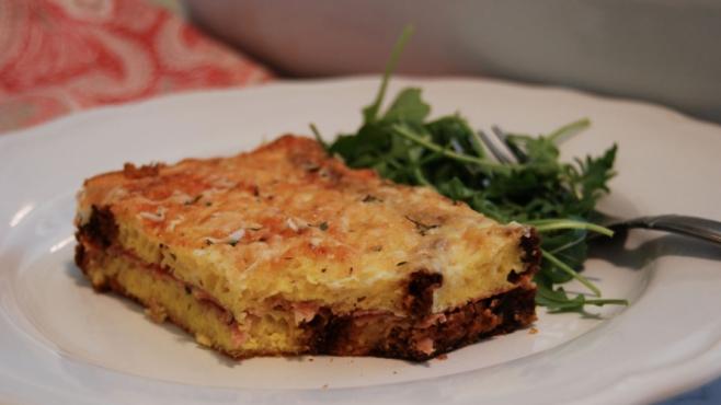 Baked Brioche Croque-Monsieur