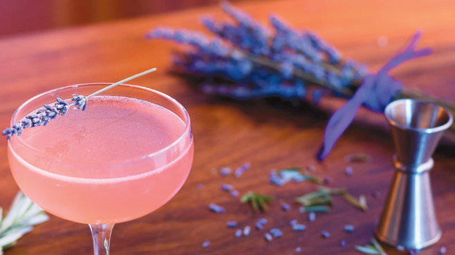 Rosemary-Lavender Rich Simple Syrup