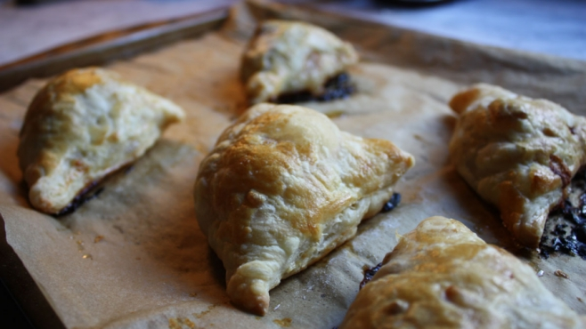 Apple, Brie and Pecan Turnovers