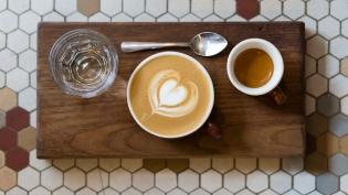 Artisan coffee at Dean Hotel