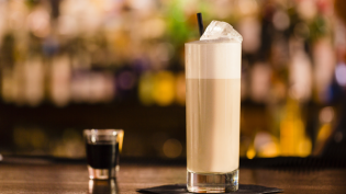 Adult Coffee Milk Cocktail
