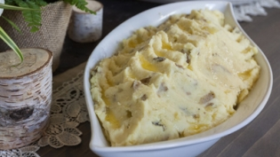 Rustic Mashed Potatoes