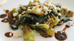Hot and Sour Bok Choy