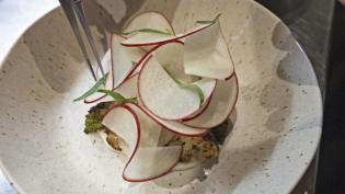 Roasted Cauliflower with Heirloom Apple and Tarragon