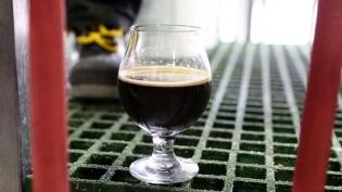 Fair-trade chocolate stout by brewer Sean Larkin